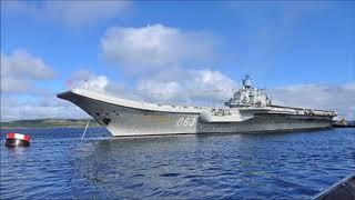 «Адмирал Кузнецов» пойдет на новых отечественных котлах о ремонте