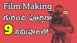 Film making గురుంచి పూర్తిగా 9 నిమిషాలలో  | 5 Main Aspects of Film Making | Filmy Geeks