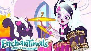 Enchantimals Россия | Ужасный барабанщик