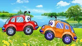 Мультфильмы Про Машинка Вилли Развивающие мультики  игра для детей FGTV