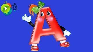 Занимательная азбука  Учим Алфавит  Буква А