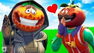 TOMATOHEAD GETS A GIRLFRIEND?! - A Fortnite Short Film