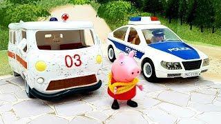 Мультик с игрушками - Псевдоволки! Новые игрушечные мультфильмы про машинки 2019.