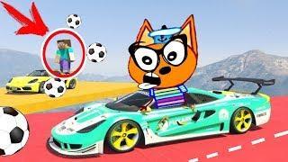 НОВЫЕ #Машинки Кота Барбоса !! ВЕСЕЛЫЕ МУЛЬТИКИ - Мультфильмы для мальчиков гта 5