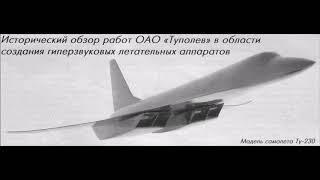 Ту 230  проект 230  — проект советского дальнего гиперзвукового ударного самолёта
