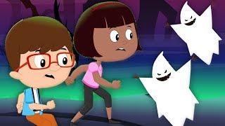 вы не может бег его Хэллоуин | мультфильмы для детей | You Can't Run its Halloween | Booya Russia