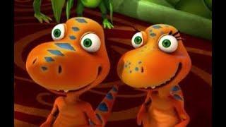 Поезд динозавров Лучшие друзья Мультфильм для детей про динозавров