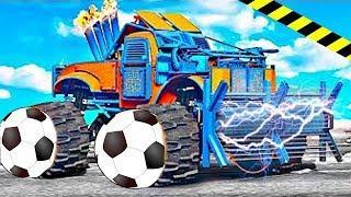 Соник и его веселые друзья !! Новые мультфильмы про машинки для мальчиков в ГТА 5