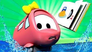 Поезд Трой - Летний спецвыпуск - Подводный поиск - поезд спасатель - детский мультфильм