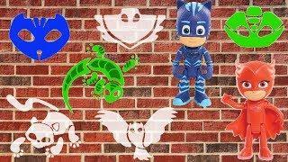 Пазлы для детей Pj masks Игрушки Герои в масках Новые серии