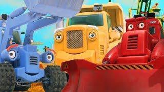 Синий трактор — Стройка: мультфильмы для детей — Бозер замерз