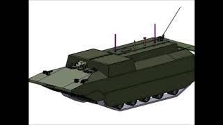 Новую боевую машину для морской пехоты оснастят ГТД в 1500 л с