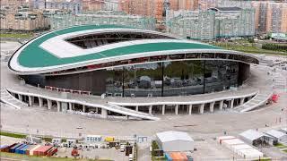 Достроили  как выглядят все стадионы, на которых пройдет ЧМ 2018