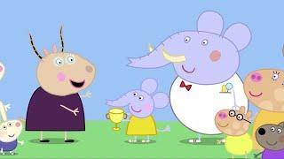 Мультфильмы Серия - Свинка Пеппа на русском все серии подряд - Сборник 19 - Мультики