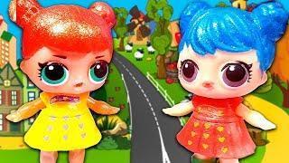 Мультики для детей с игрушками сборник! Мультфильмы про куклы Лол для девочек