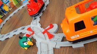 Поезда Мультики про Машинки Игрушки - Город машинок 291 серия Пересечение Мультфильмы Лего для детей