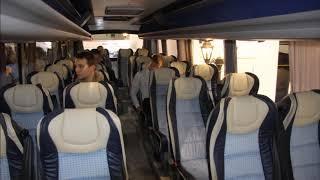Носатые автобусы Неман из Белоруссии на выставке Busworld