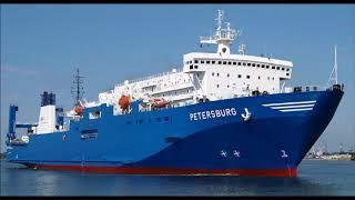 Российский паром  Петербург  арестован в эстонском порту