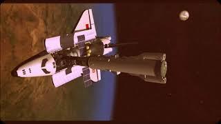 Первая в мире боевая космическая лазерная станция  Скиф ДМ