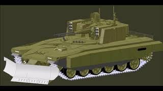 В России разрабатывают принципиально новый танк  Он сможет действовать без экипажа