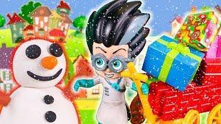 Герои в масках мультики с игрушками для детей - Подарок для Ромео! Мультфильмы для малышей 2018