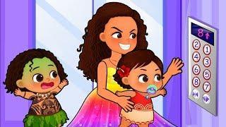 моана и мауи cказки для детей ♛ Смешные для детей ♛ Мультфильмы для детей ❤ #4