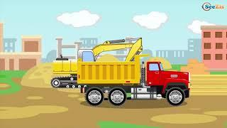 Мультики для детей про Трактор и Грузовичок Развивающие мультфильмы