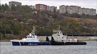 31 октября из Рыбинска в город герой Севастополь ушли 2 пограничных сторожевых корабля