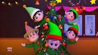 эльфы Палец семья | русский мультфильмы для детей | Elves Finger Family | Farmees Russia