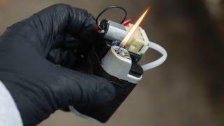 Мини газовая горелка - резак / Как сделать своими руками ?