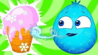 Оп и Боб — Мультики о Разнице — Развивающие Мультфильмы для Малышей