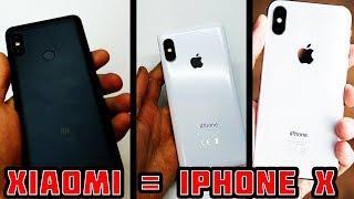 Как превратить REDMI NOTE 5 в IPhone X. Как сделать из любого смартфона IPHONE! Лайвхак=)