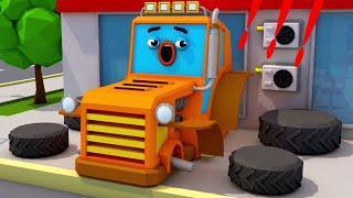 Мультики про машинки Трактор и ТРАНСПОРТ - Мультфильмы Новые Серии для детей 2018