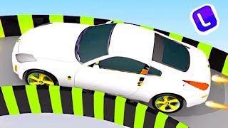 Мультики про машинки. Цветные Машинки и Трактора - Мультфильмы для детей про Синий Трактор