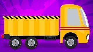 самосвал макияж | автомобиль | Dump Truck Makeover | Umi Uzi Russia | русский мультфильмы для детей