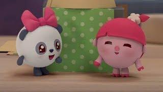 Малышарики -  Кто там? - серия 147 - Обучающие мультфильмы для малышей - квартира и дом