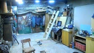 Как сделать халявный и очень яркий свет в гараже