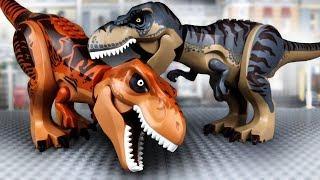 LEGO Динозавры   Тиранозавр против Тиранозавра   Мультики про Динозавров   ЛЕГО Мир Юрского Периода