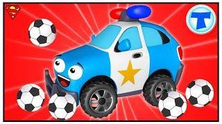 Полиция Мультики про Машинки Помощники в Городе Мультфильмы для детей Сборник Все серии HD