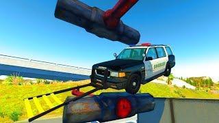 Мультики про машинки - Новые эксперименты и полицейские автомобили! Мультфильмы 2019 года Анимашка