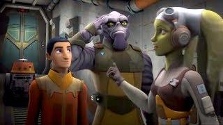 Звёздные войны: Повстанцы - Секретный груз - Star Wars (Сезон 3, Серия 18) | Мультфильм Disney