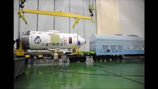 Космический корабль «Союз МС 09» отправлен на сборку с ракетой носителем