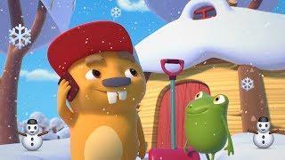 Мультфильмы - Бобр Добр ❄️ ЗИМА ❄️ Сборник мультиков про зиму и Новый год для детей