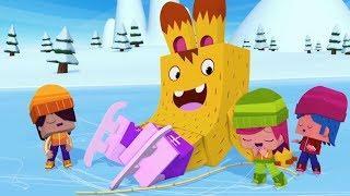 Мультфильмы про зиму! - ЙОКО - Зимний Мегасборник - Интересные мультик для детей