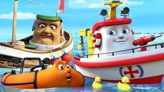 Мультфильмы для детей про кораблик Элаяс все серии подряд. Лучшие мультики про приключения