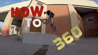 how to 360 / как сделать 360 на bmx / mtb в домашних условиях своими руками  street