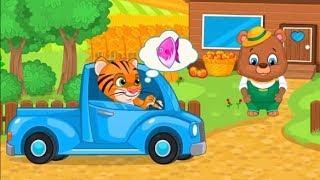 Мультики для детей. Детский мультик игра Ферма. Смотреть мультфильмы онлайн