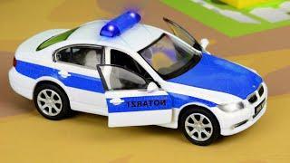 Полиция МУЛЬТИКИ про Спасательные Машинки в Городе Сборник Все серии Мультфильмы для детей