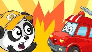 Мультфильмы Про Машинки - Пожарная Машина - Мультики Для Детей