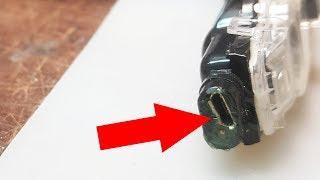 Kemei KM-1832, как сделать зарядку от USB?